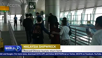 Malaysia boat capsize: Four rescued Chinese return home
