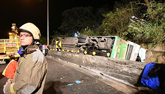 At least 28 killed in bus crash in Taiwan