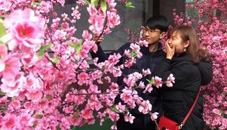Valentine's Day celebrated around China