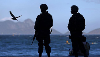 9,000 soldiers sent to Rio de Janeiro ahead of potential police strike