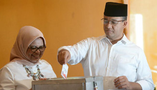 Indonesia holds gubernatorial polls