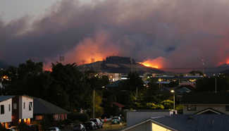 Christchurch declares emergency as New Zealand wildfires spread