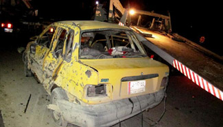 At least 9 killed in suicide car bomb in eastern Baghdad