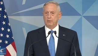 US Defense Secretary James Mattis attends first NATO meeting
