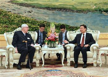 Chinese VP meets chairman of Jardine Matheson Holdings Ltd. in Beijing