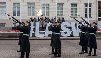 99th anni. of Independence Day of Lithuania commemorated