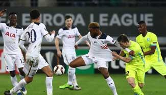 KAA Gent beat Tottenham Hotspur 1-0 at UEFA Europa League