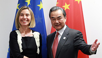Chinese FM and Germany, EU, UK counterparts seek global growth cooperation