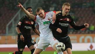 Leverkusen down Augsburg 3-1 in German Bundesliga