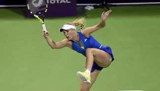 Caroline Wozniacki wins Qatar Open semifinal