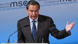Chinese FM calls for adherence to cooperation