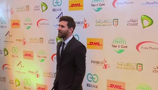 Football superstar Messi visits Egypt to promote Hepatitis C treatment