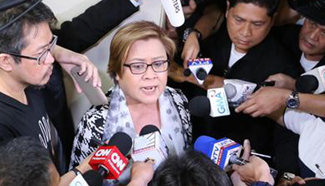 Philippine police arrest female lawmaker allegedly involved in illegal drug trading
