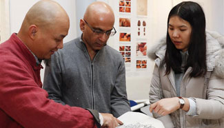Chinese woodblock prints exhibited in London