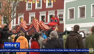 'Chinese Carnival' becomes most important festival in this German town