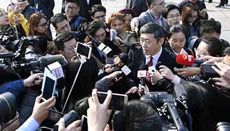 Members of 12th CPPCC National Committee receive interview