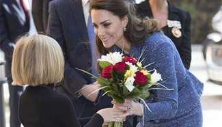 Britain's Duchess of Cambridge visits Ronald McDonald House