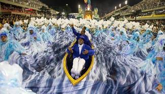 Special groups' Samba Schools participate in Rio Carnival
