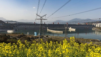 Three Gorges Project generates 1 trillion kwh of electricity