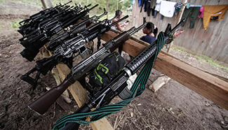 UN Mission in Colombia starts verification of arms laying down