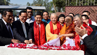 Bangladesh opens ancient Buddhist scholar's memorial stupa built with Chinese support