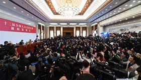 The press conference of the Fifth Plenum of the 12th National People's Congress