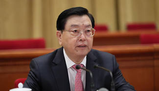Top legislator presides over preparatory meeting for 5th session of 12th NPC