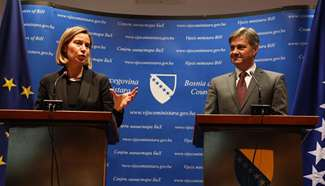 BiH makes impressive progress towards EU: Mogherini