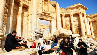 Syrian forces capture city of Palmyra after battles with IS group