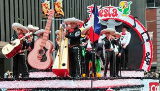 Houston Rodeo Parade held in U.S.