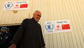 WFP spokeswoman in Jordan praises China's help for Syrian refugees