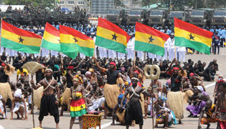 Ghana celebrates 60th Independence Day