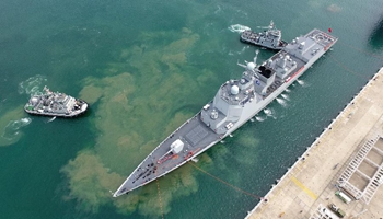 Chinese warships return home after high sea drill