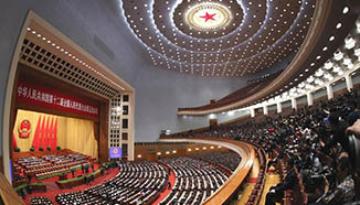 2nd plenary meeting of 5th session of China's 12th NPC held in Beijing