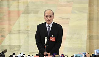 Minister of Justice Zhang Jun receives interview