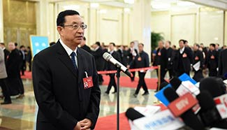 Chinese Minister of Culture Luo Shugang receives interview