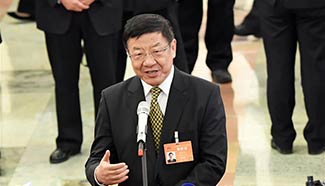 Ministers receive interviews before plenary meeting of 5th session of 12th NPC