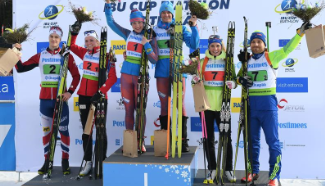 Highlights of single mixed relay final of IBU Cup