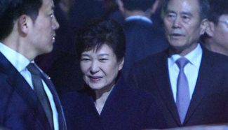 Park Geun-hye arrives at private residence in Seoul