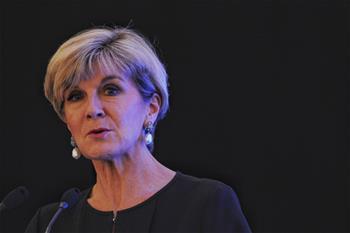 Australia's FM attends Fullerton Lecture in Singapore