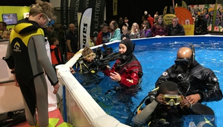 Kids attracted to 2017 Swedish Outdoor Show as spring starts