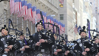 St. Patrick's Day parade in NYC