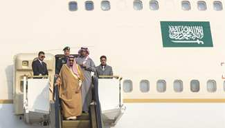 Saudi King arrives in Beijing for state visit to China