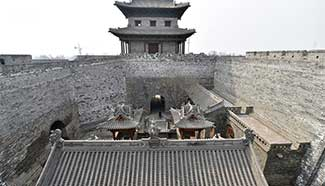 Restoration of ancient county seat in N China underway