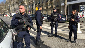 One injured in explosion at IMF Paris office