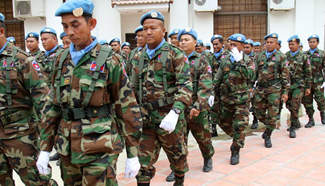 4th batch of Cambodian troops to leave for war-torn Mali next month