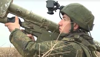 Russia launches large-scale drill in Crimea