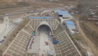 39 high-speed railway tunnels cut through in NE China