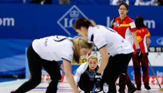 Scotland beats China 8-6 during World Women's Curling Championship