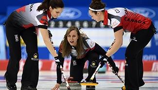 Women's Curling Championship: Canada beats Russia 10-9